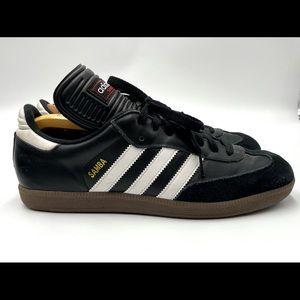 Adidas Samba Men Size 9 Black White Shoes